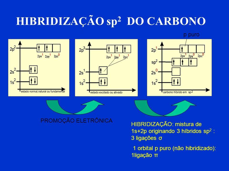 HIBRIDIZAÇÃO sp2 DO CARBONO