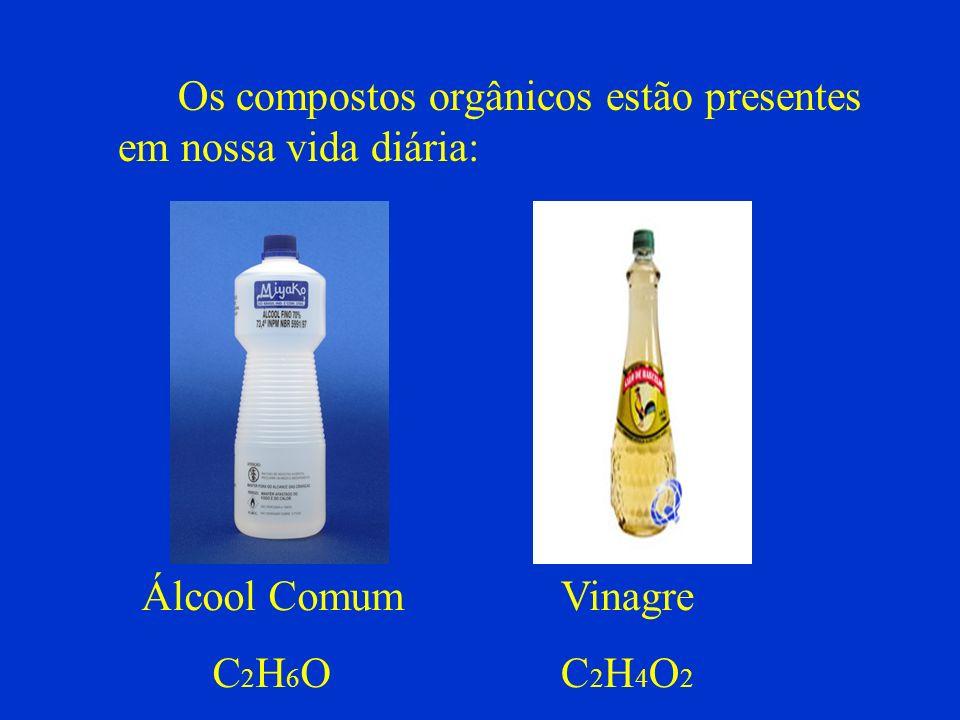 Os compostos orgânicos estão presentes em nossa vida diária: