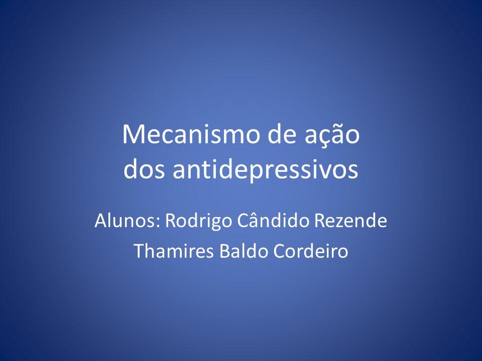 Mecanismo de ação dos antidepressivos