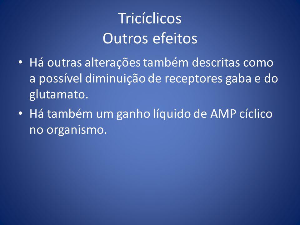 Tricíclicos Outros efeitos