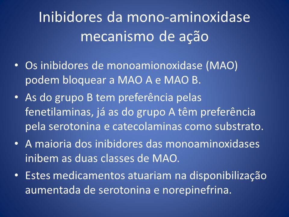 Inibidores da mono-aminoxidase mecanismo de ação