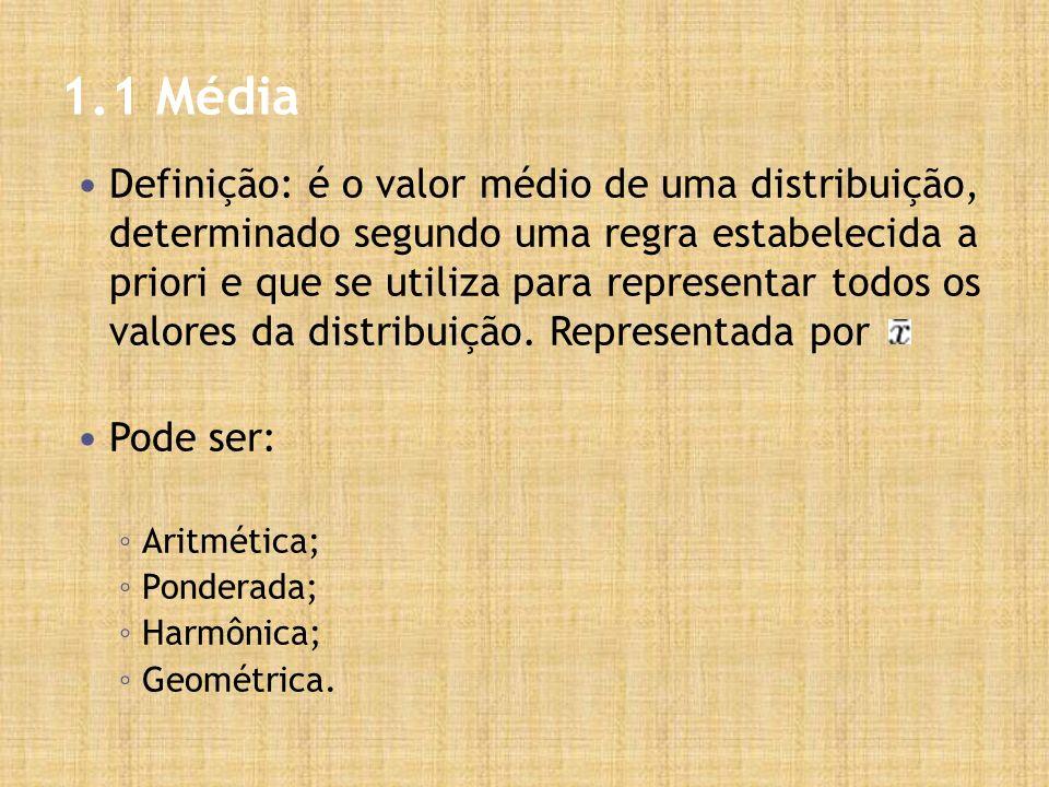 1.1 Média