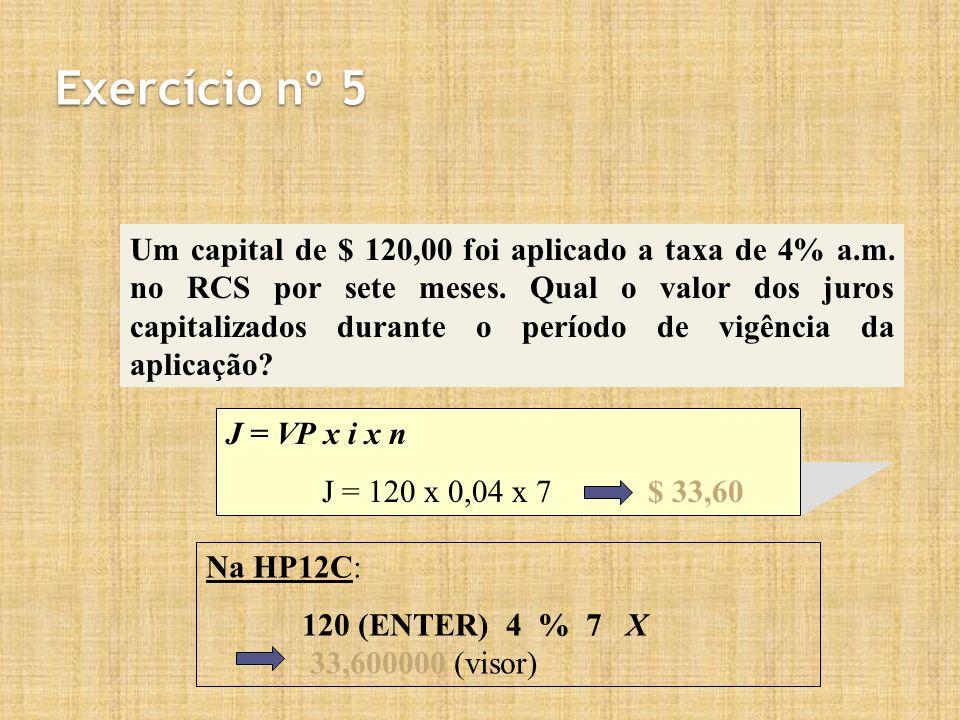 Exercício nº 5