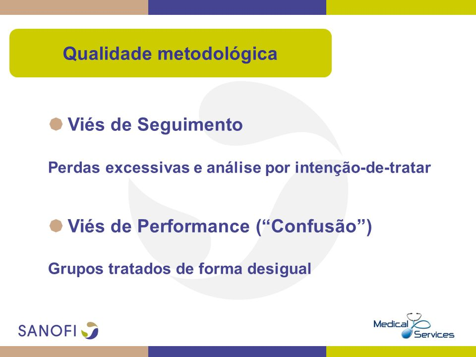 Qualidade metodológica