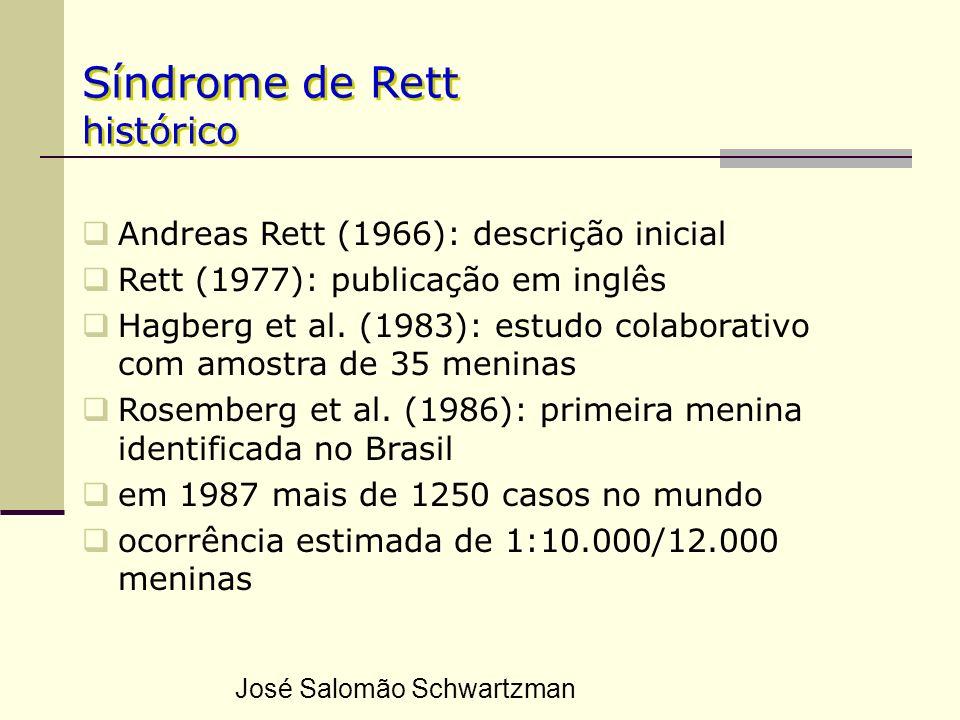 Síndrome de Rett histórico