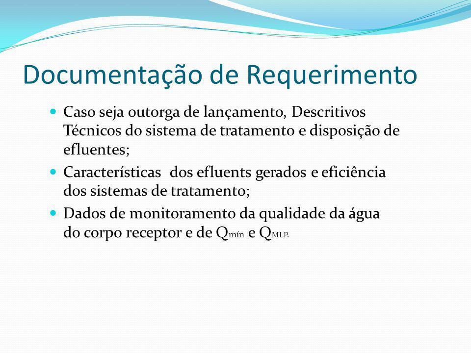 Documentação de Requerimento