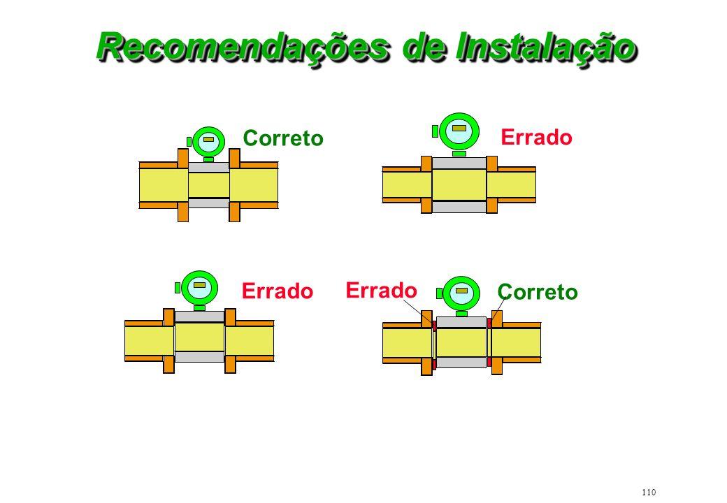 Recomendações de Instalação
