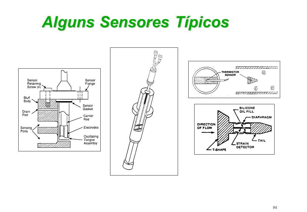 Alguns Sensores Típicos