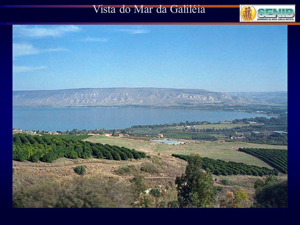 Vista do Mar da Galiléia