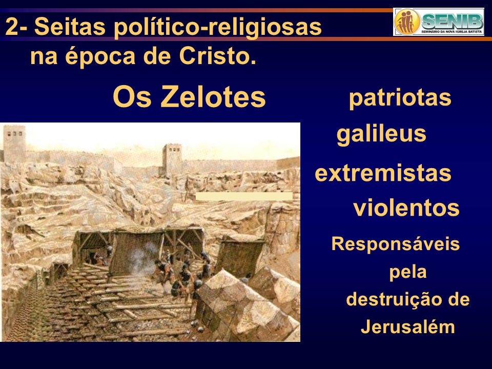 Responsáveis pela destruição de Jerusalém