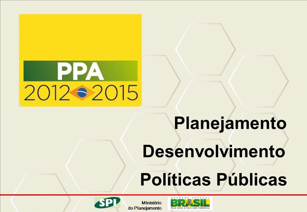 Planejamento Desenvolvimento Políticas Públicas