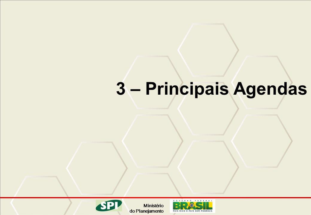 3 – Principais Agendas 18 18 18 18
