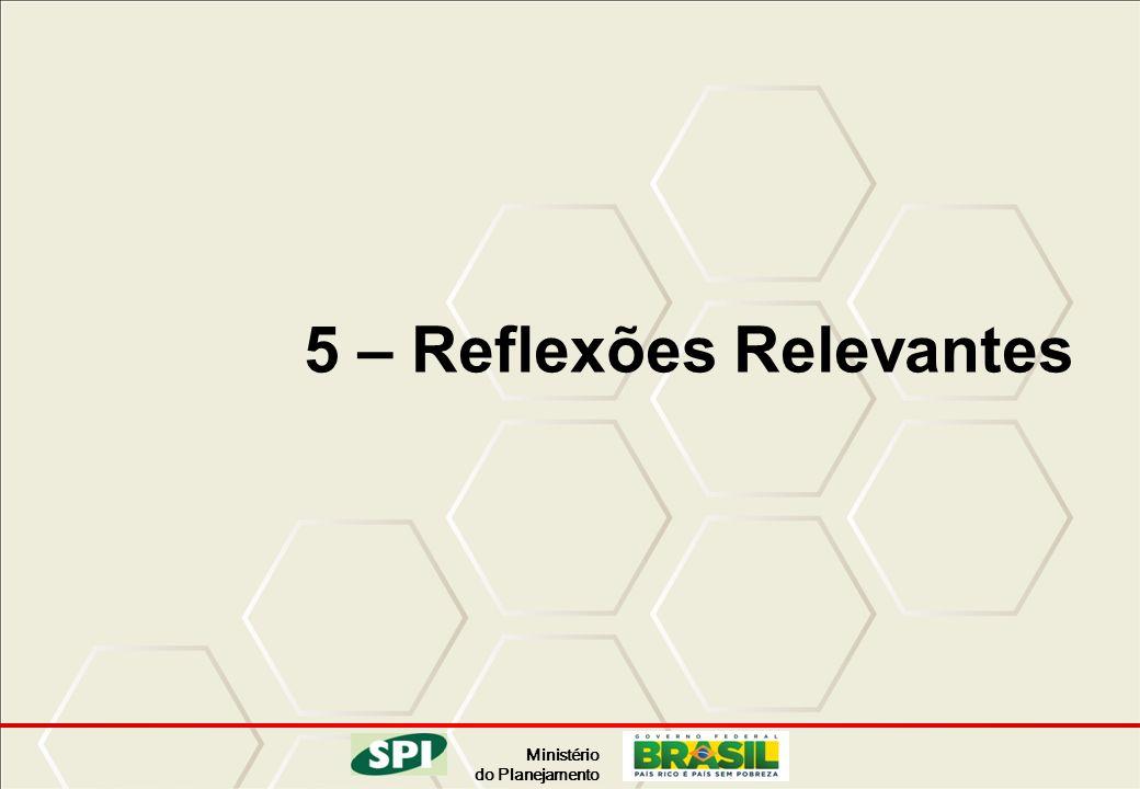 5 – Reflexões Relevantes