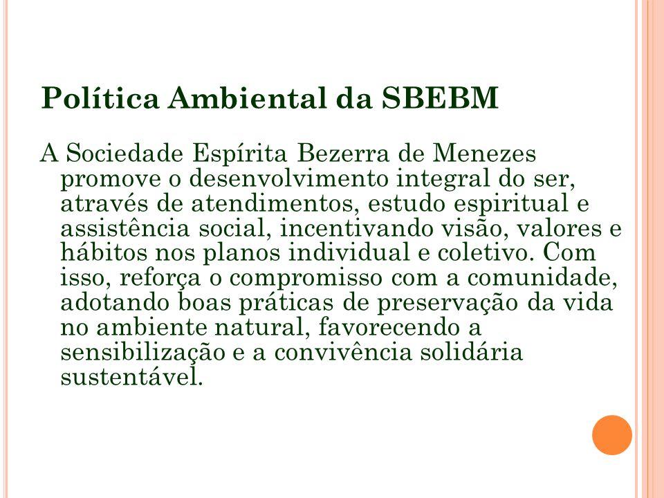 Política Ambiental da SBEBM