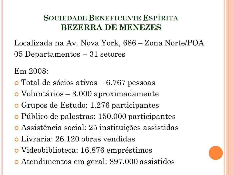 Sociedade Beneficente Espírita BEZERRA DE MENEZES