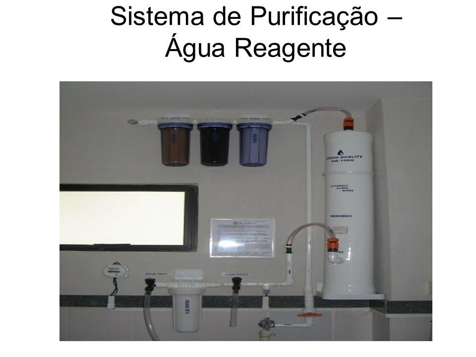 Sistema de Purificação – Água Reagente