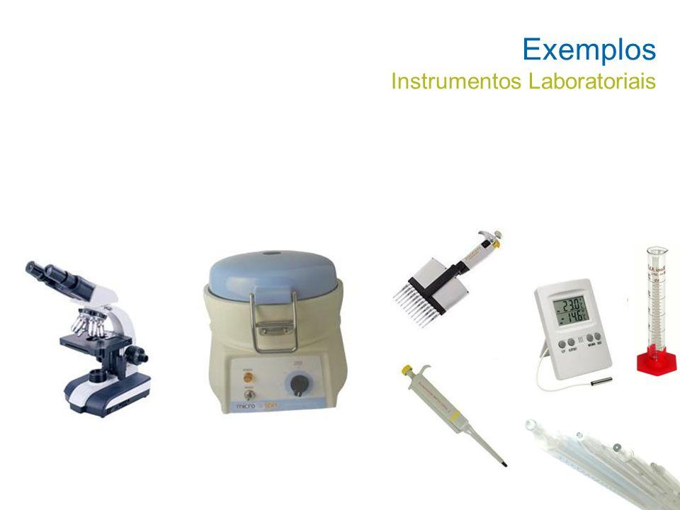 Exemplos Instrumentos Laboratoriais