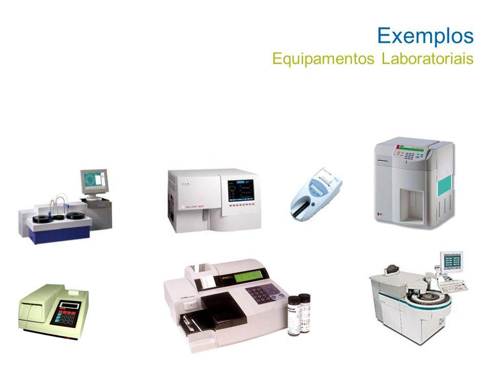 Exemplos Equipamentos Laboratoriais