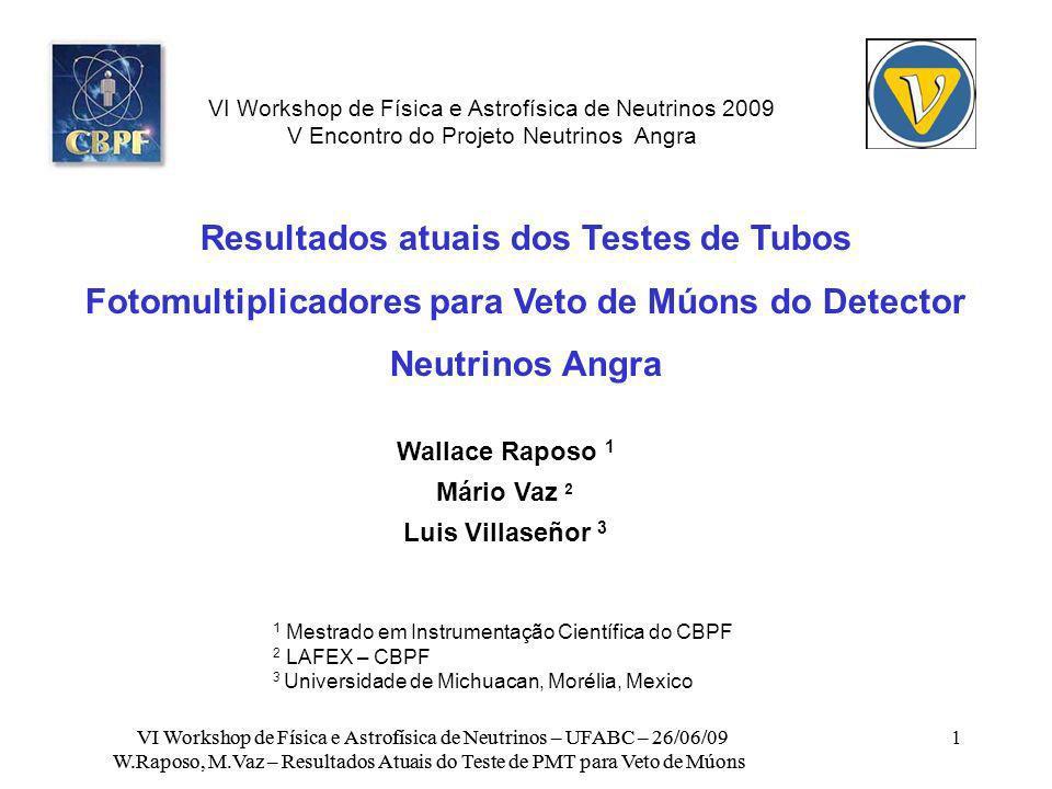 VI Workshop de Física e Astrofísica de Neutrinos 2009