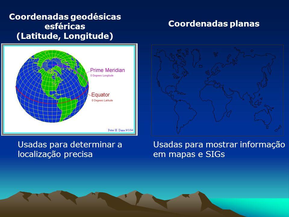 Coordenadas geodésicas esféricas