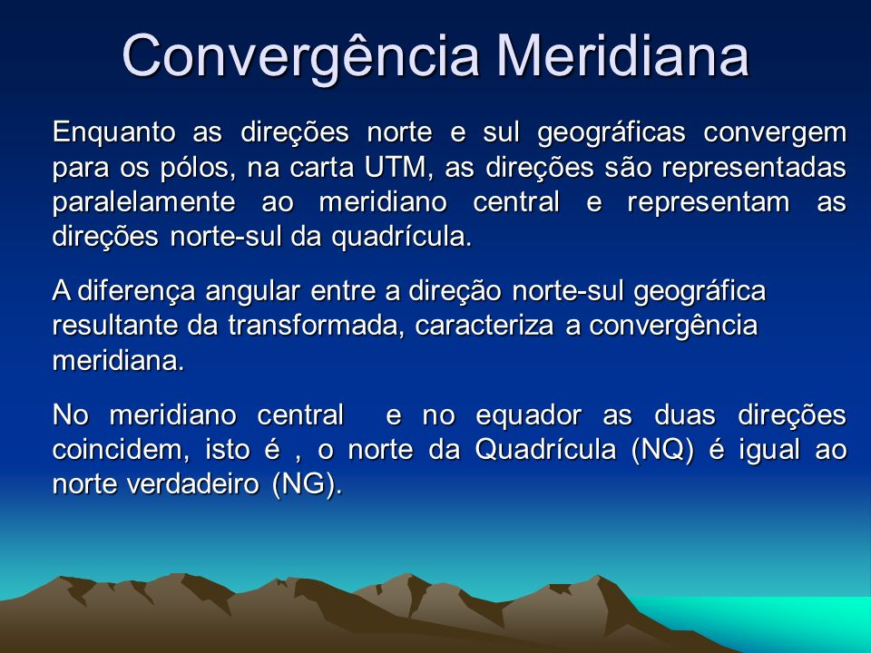 Convergência Meridiana