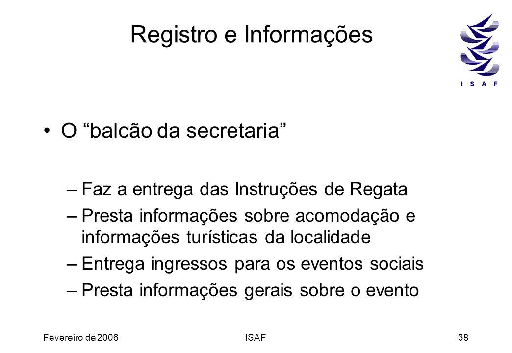 Registro e Informações
