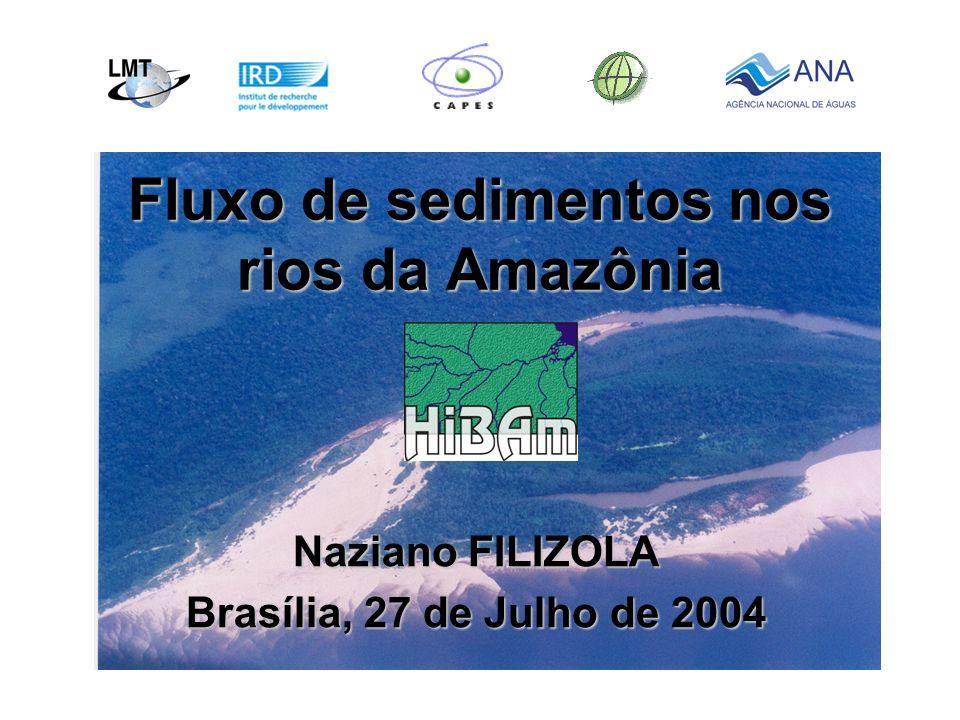 Fluxo de sedimentos nos rios da Amazônia