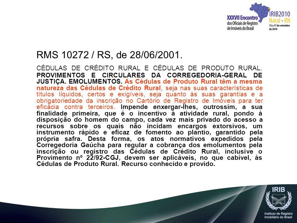 RMS 10272 / RS, de 28/06/2001.