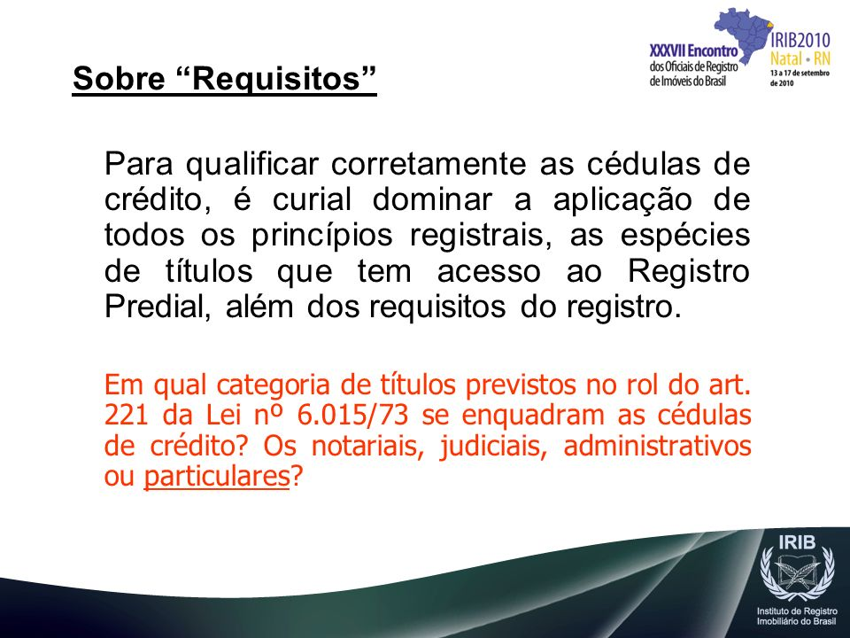 Sobre Requisitos