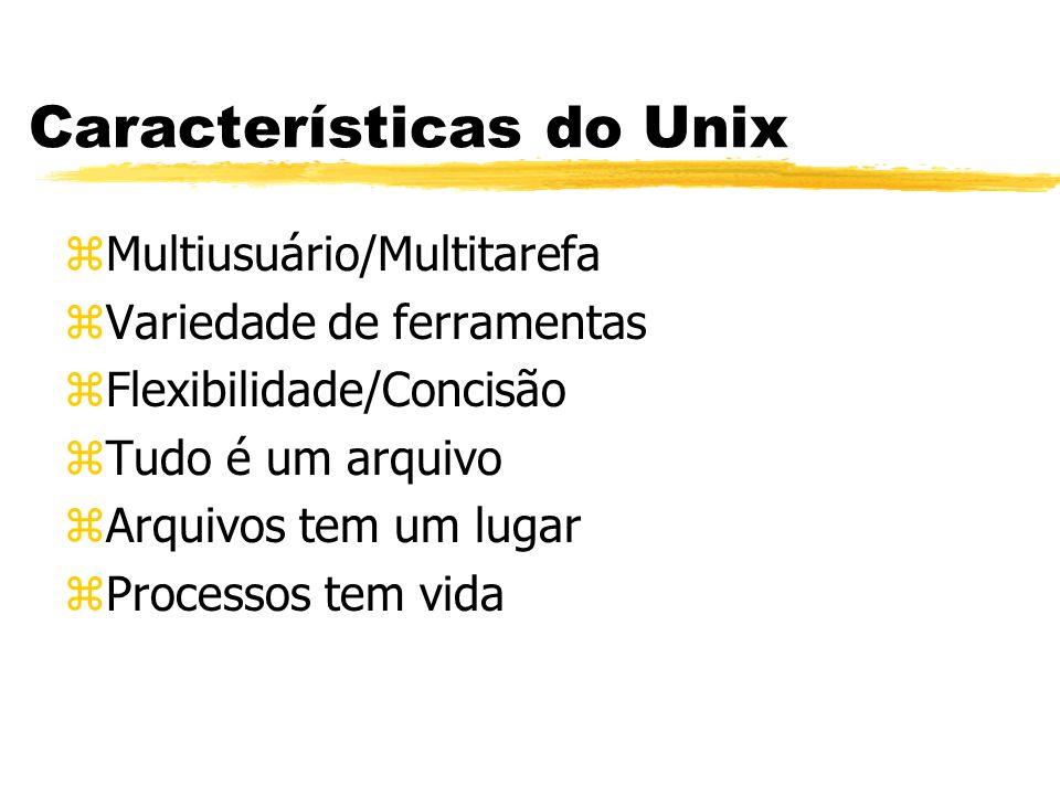 Características do Unix