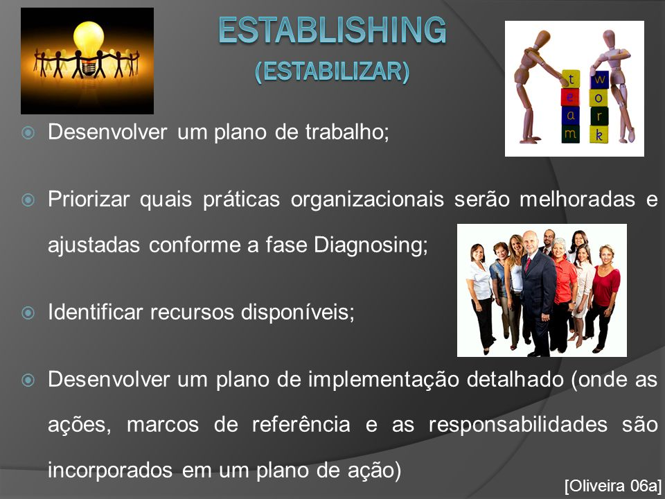 Establishing (Estabilizar)