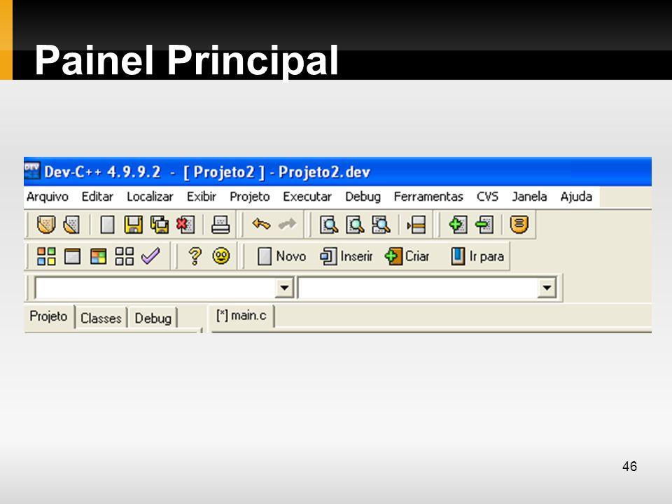 Painel Principal