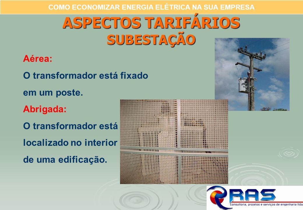 ASPECTOS TARIFÁRIOS SUBESTAÇÃO