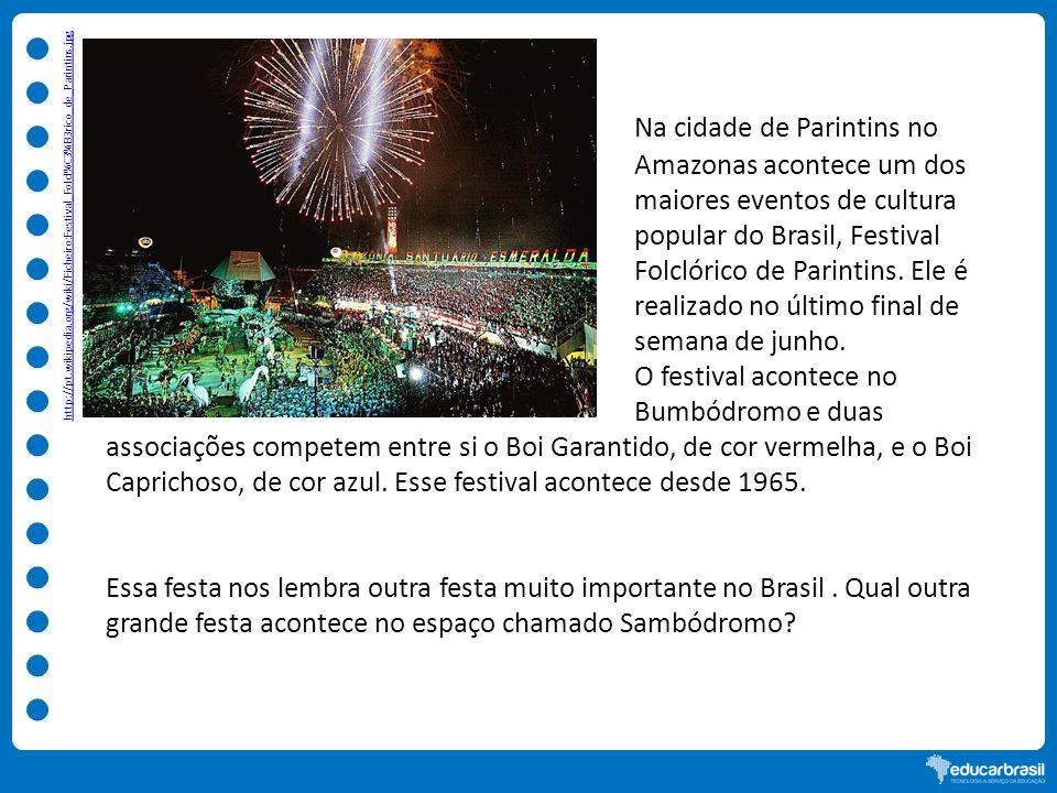 O festival acontece no Bumbódromo e duas