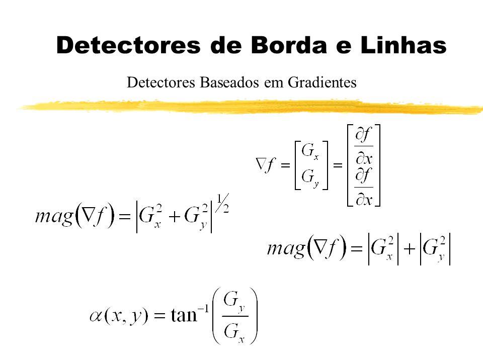 Detectores de Borda e Linhas