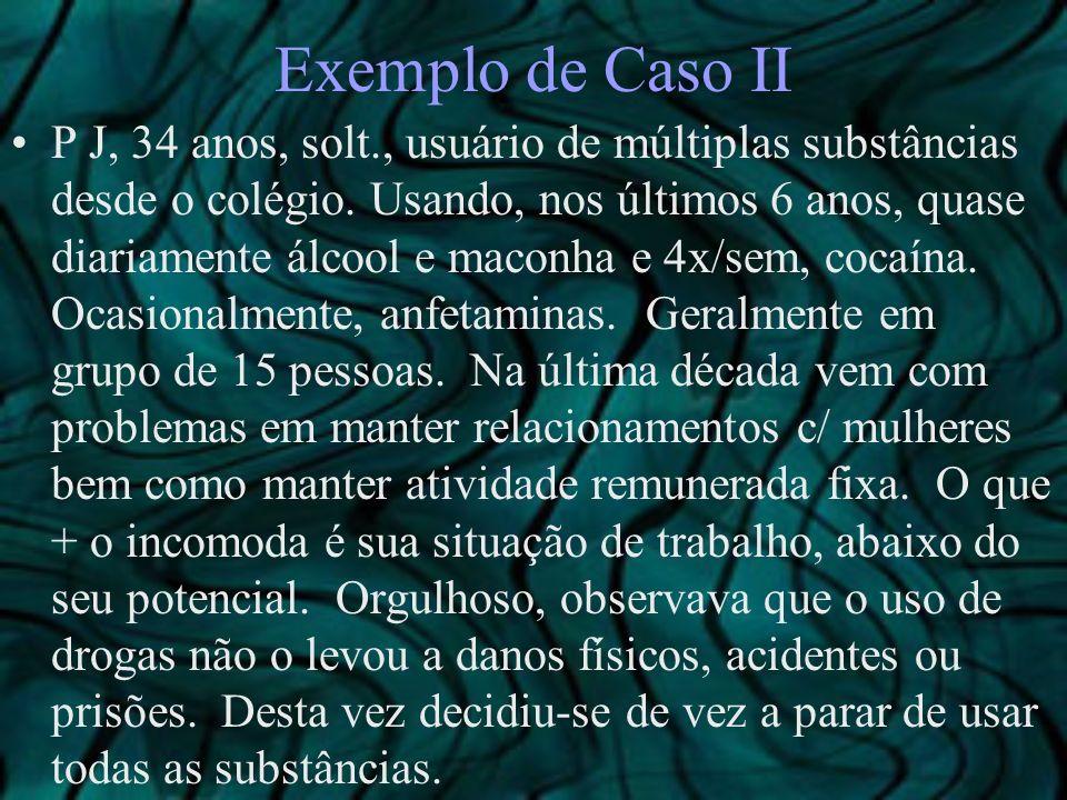 Exemplo de Caso II