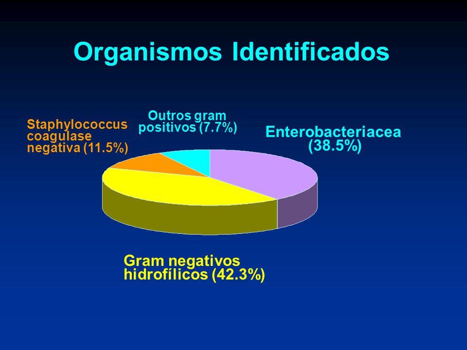 Organismos Identificados