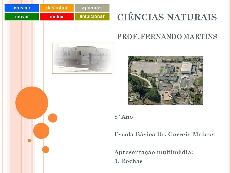 CIÊNCIAS NATURAIS PROF. FERNANDO MARTINS
