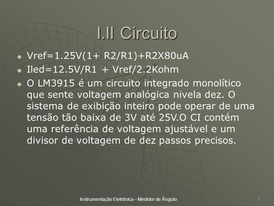 I.II Circuito Vref=1.25V(1+ R2/R1)+R2X80uA