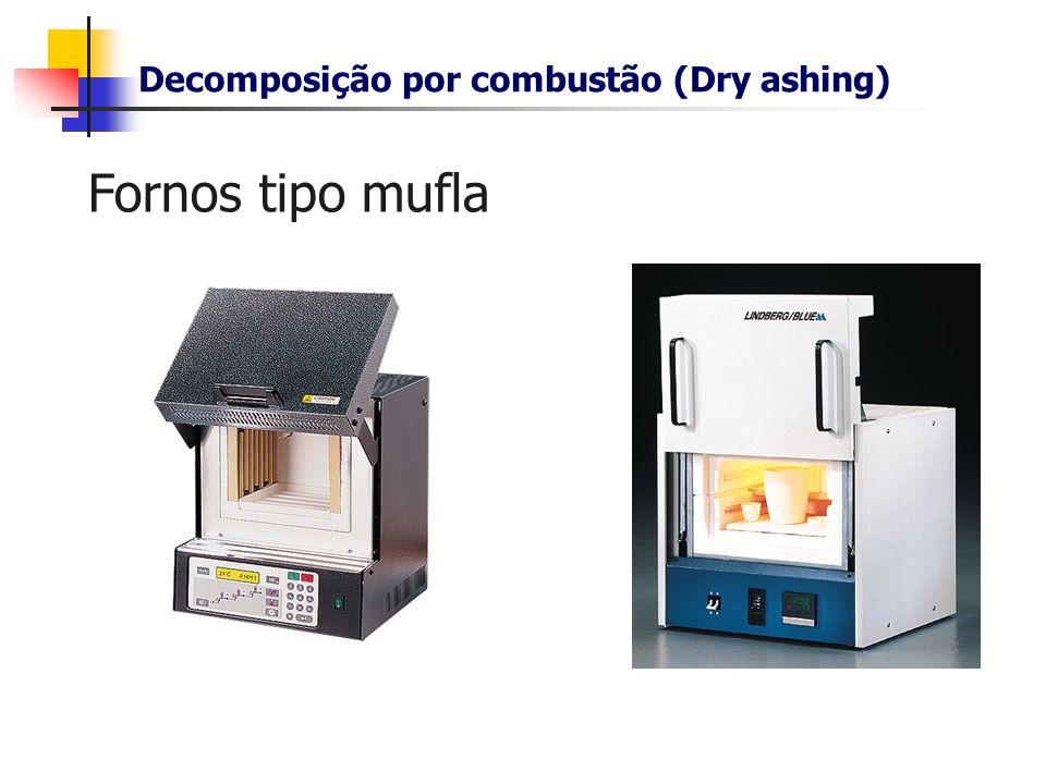 Decomposição por combustão (Dry ashing)