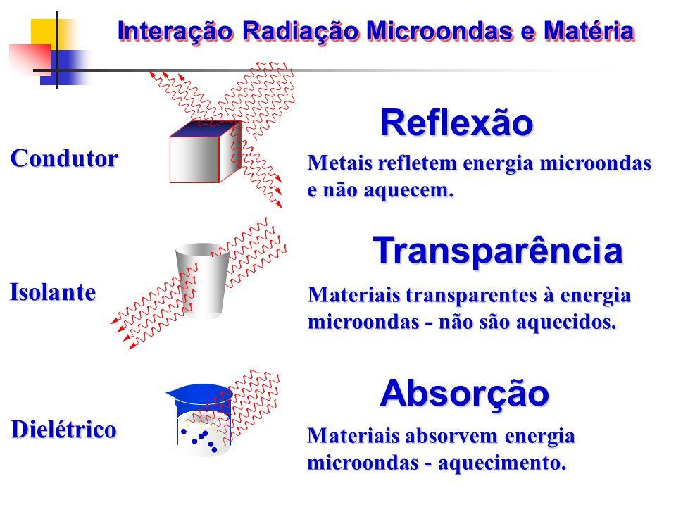 Interação Radiação Microondas e Matéria