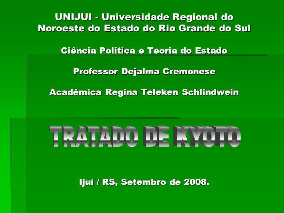 UNIJUI - Universidade Regional do Noroeste do Estado do Rio Grande do Sul Ciência Política e Teoria do Estado Professor Dejalma Cremonese Acadêmica Regina Teleken Schlindwein Ijuí / RS, Setembro de 2008.