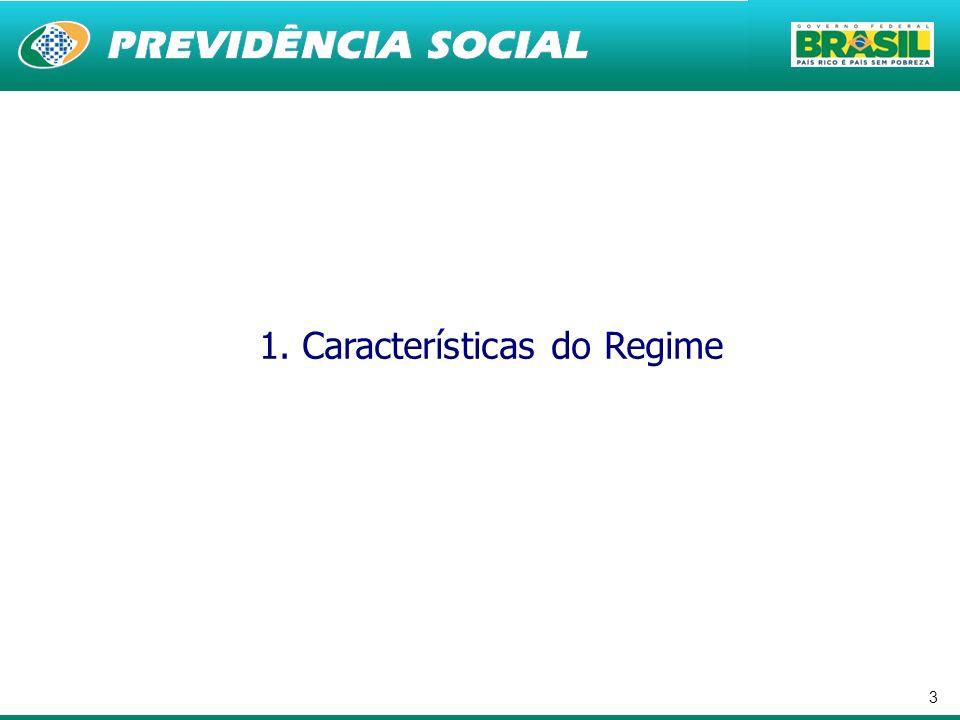 1. Características do Regime