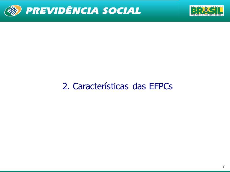 2. Características das EFPCs