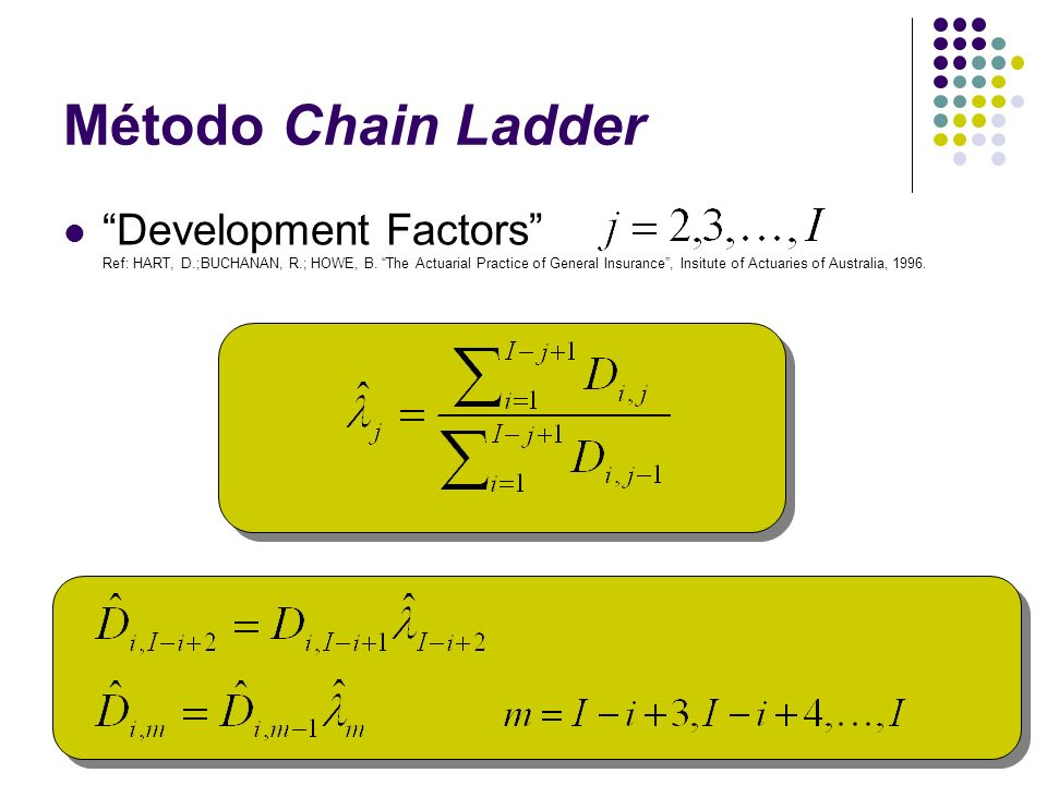 Método Chain Ladder