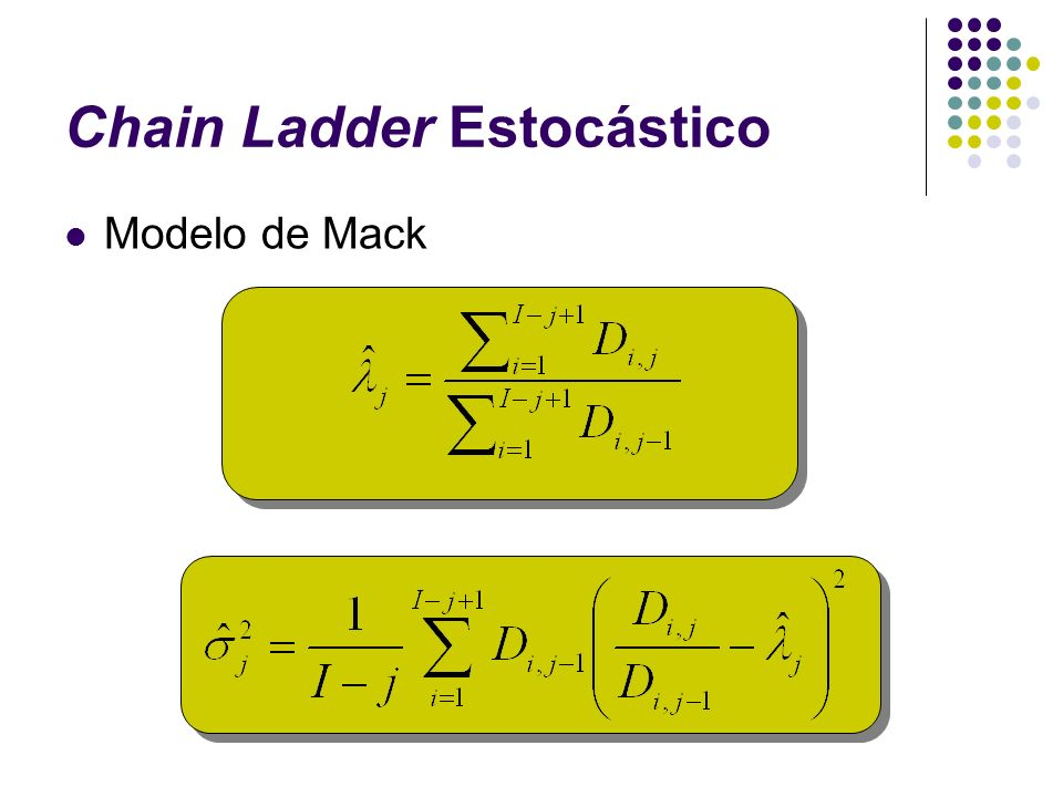 Chain Ladder Estocástico
