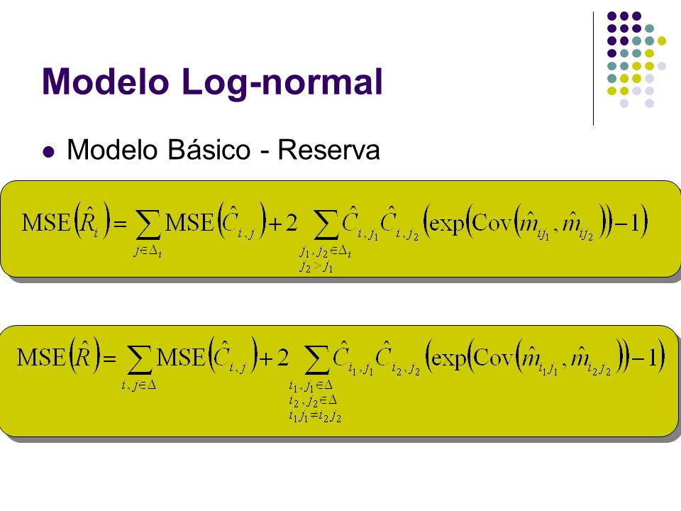 Modelo Log-normal Modelo Básico - Reserva