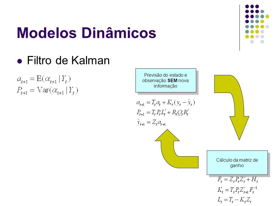 Modelos Dinâmicos Filtro de Kalman