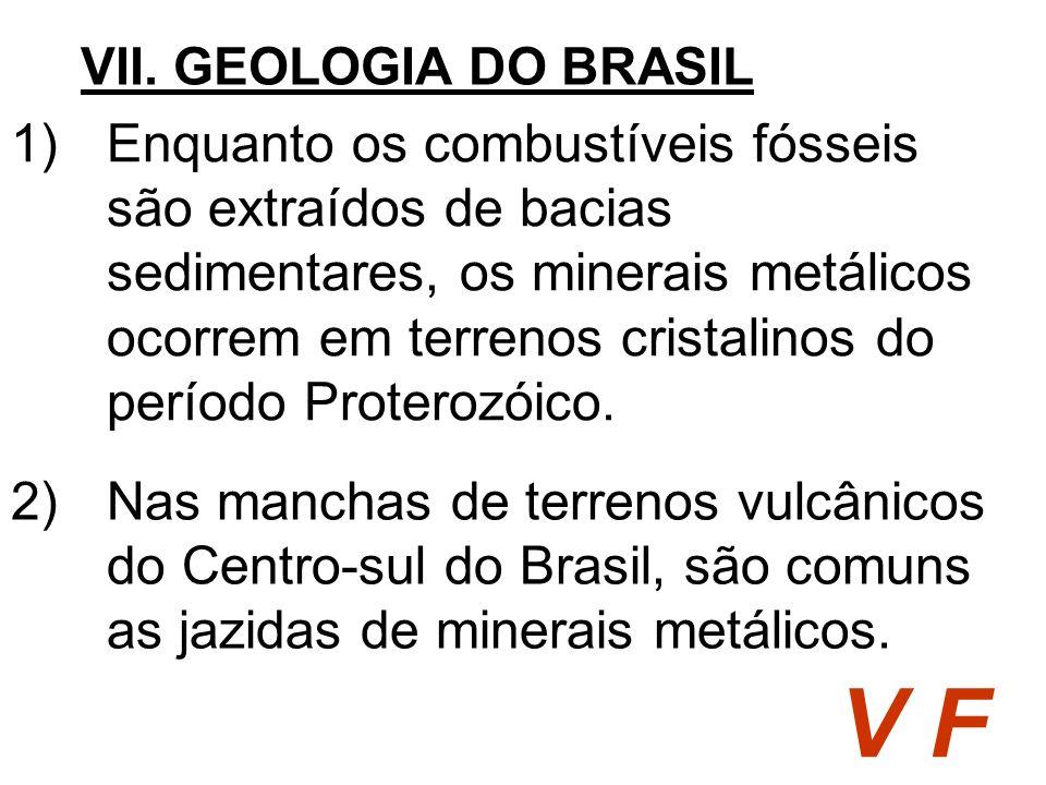 VII. GEOLOGIA DO BRASIL