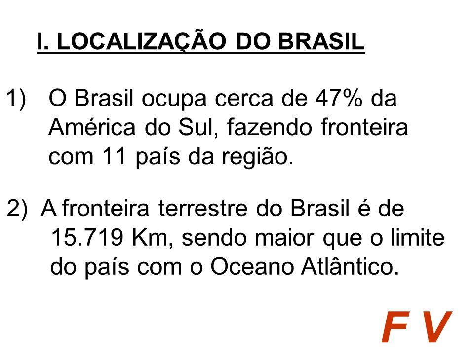 I. LOCALIZAÇÃO DO BRASIL